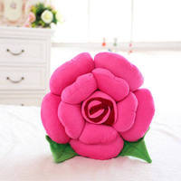 fashion rose flower plush toy flower pillow 40 cm ,Christmas gift x233