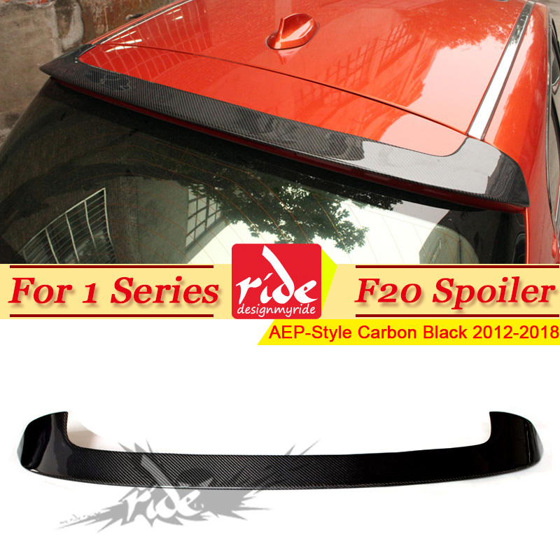 F20 Rear Roof Spoiler wing Carbon Fiber P Style Fits For BMW 1 Series F20 118i 120i 128i 130i 135i rear trunk Spoiler wing 2012+