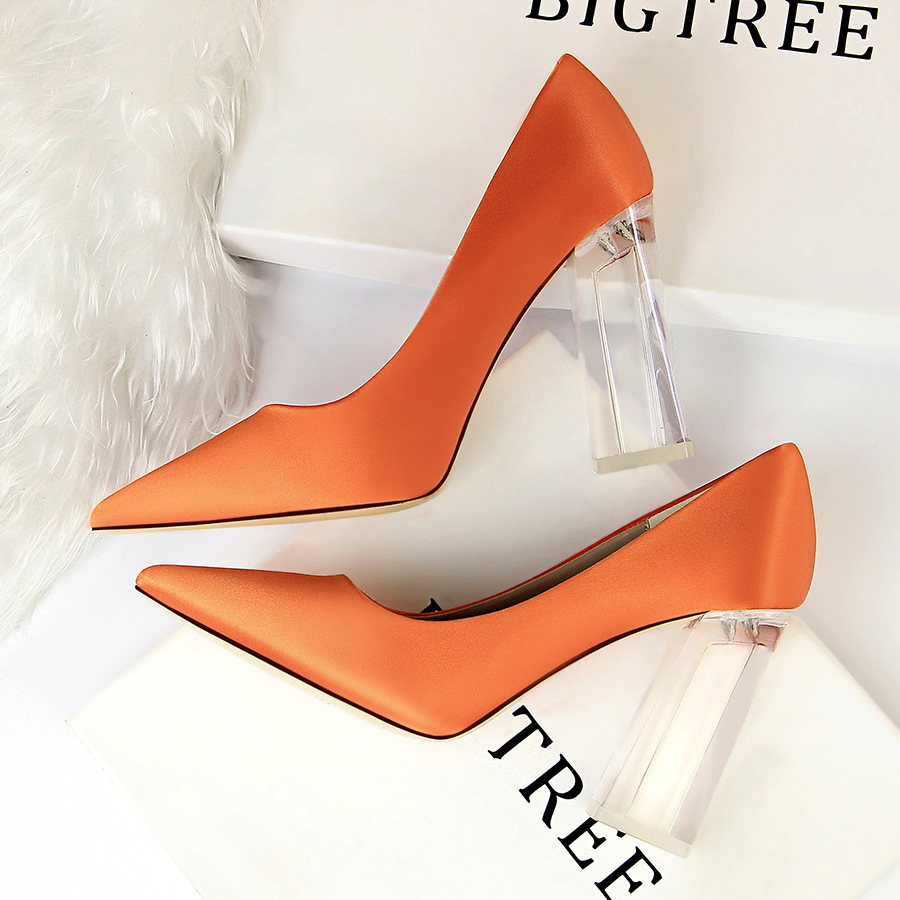 Pointed Sexy High Heels