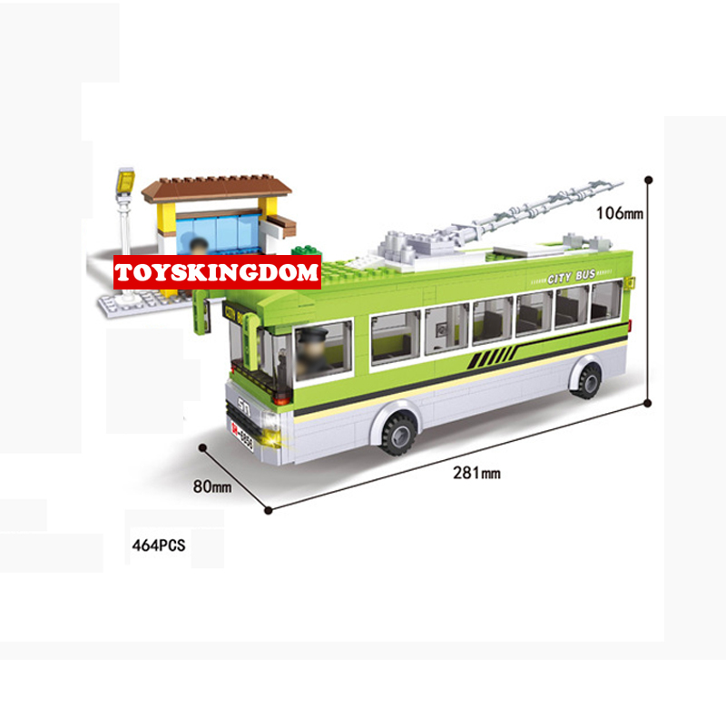 Hot city Vehicle Tram bus building block Passengers driver figures Waiting Hall bricks educational toys for children gifts hot city fire rescue ladder engine truck building block fireman figures bricks educational toys for children gifts