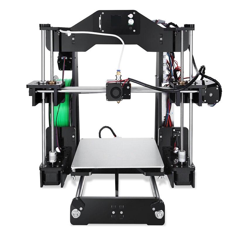 2018 Newest design Sinis Laser 3d Printer DIY 3d Printer Kit Full Aluminum Large Printing Size High Delta Structure Machine
