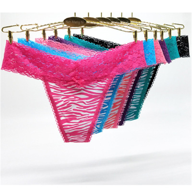 2019 Lace Girls Striped Panties Thongs Wireless Sexy Lingerie  Young Girl Panties G String Cueca Infantil Children's Clothes