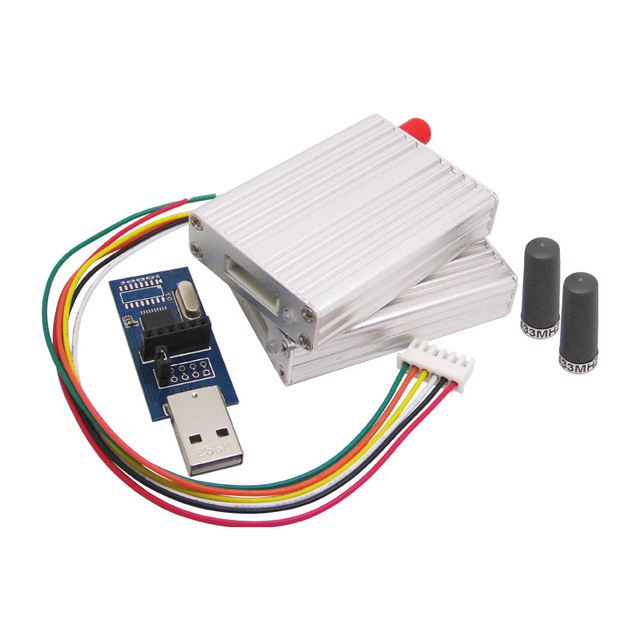 2 unids/lote 433 MHz RF Módulo Kit, Transmisor y Receptor inalámbrico RF SV612