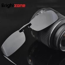 2017 Nuevo de Metal Flip-up & No-flip TAC Polarizado gafas de Sol Hombres Clip-on Gafas de Conducción de Verano estilo gafas de sol oculos feminino