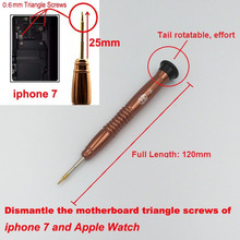 Taiwan YangSheng Brand Y Style 0.6mm Triangle Screwdriver 25*120mm Repair Tools For Motherboard of iphone 7 & Apple Watch