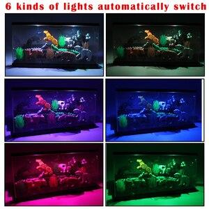 Image 3 - 3 pasos del USB de la luz LED acrílico a prueba de polvo de figuras de acción de caja Juguetes de bloques de construcción para niños