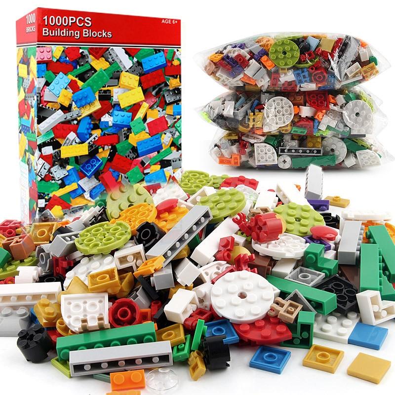 1000kpl Rakennuspalikat Tiilet 3D-rakennuttajat Educational Set - Rakentaminen lelut - Valokuva 2