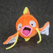 EMS 150Pcs Lot 13 21cm Anime Cartoon Magikarp Plush Dolls Toys Stuffed Soft Great Gift Wholesale