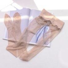 Sp & city 6 cores 5d elasticidade fina meias femininas sexy náilon transparente fino feminino meias senhoras sólido meia-calça