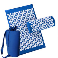 Drop Shipping Massager Appro 67 42cm Massage Cushion Acupressure Mat Relieve Stress Pain Acupuncture Spike Yoga