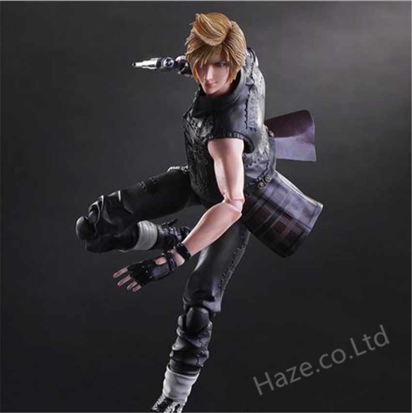 FF15 Prompto Argentum Action Figure Play Arts Kai China Ver Final Fantasy XV