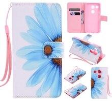 Красочный Узор подсолнечника слот для карты бумажник PU Кожа Стенд Флип Новый чехол для LG Nexus 5X случае