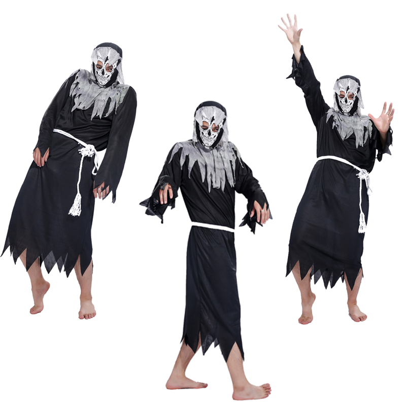Angel of Death Halloween costume Halloween costume dress up COS props masquerade costume death haunted house props