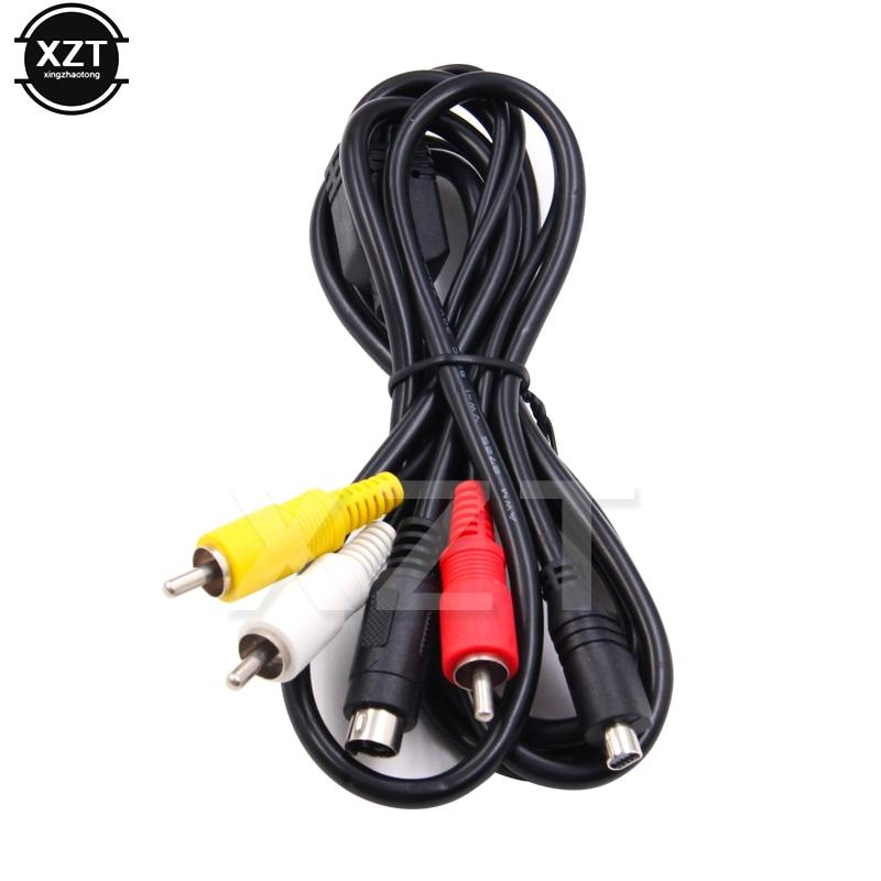 Высококачественный свинцовый AV кабель 10 Pin DVI DV разъем к 3 RCA S видео для Sony DCR Handycam видеокамера Цифровая камера VMC 15FS A/V|Кабели VGA|   | АлиЭкспресс