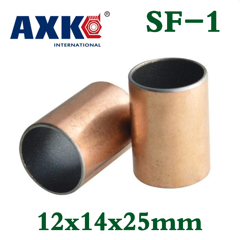 10Pcs SF-1 1215 Self Lubricating Composite Bearing Bushing Sleeve 12*14*15mm New