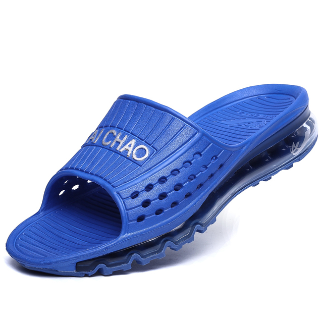 2016 summerNew Air Cushion Sandal insole  Men's Sandals  brand Fashion Men Slide  Sandals Man Slipper Flat Shoes  flip flops men