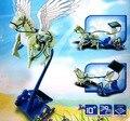 3D DIY combinação livre carriage a tríade carregador solar cavalo de Guerra jogo Da Máquina de brinquedo elétrico para as crianças as crianças a ciência da criança