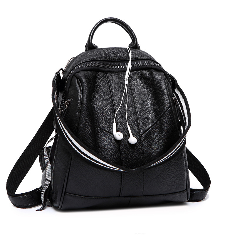 Natural Cowhide Women Backpack Fashion Knapsack Casual Genuine Leather Single Shoulder Bags School Daypack Travel Bag Rucksack Natural Cowhide Women Backpack Fashion Knapsack Casual Genuine Leather Single Shoulder Bags School Daypack Travel Bag Rucksack