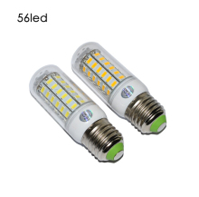 10PACK E27 7W SMD5730 56LED Lamp Corn Led Bulb High Brightness Lamp Spotlight  Candle Lighting Home Decoration 220V 360 Degree цена