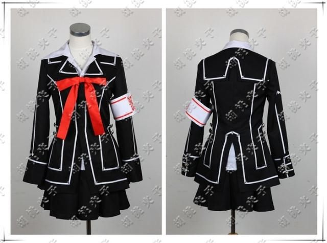 Vampire Knight Yuki Cross Cosplay Costume Girl Uniform on