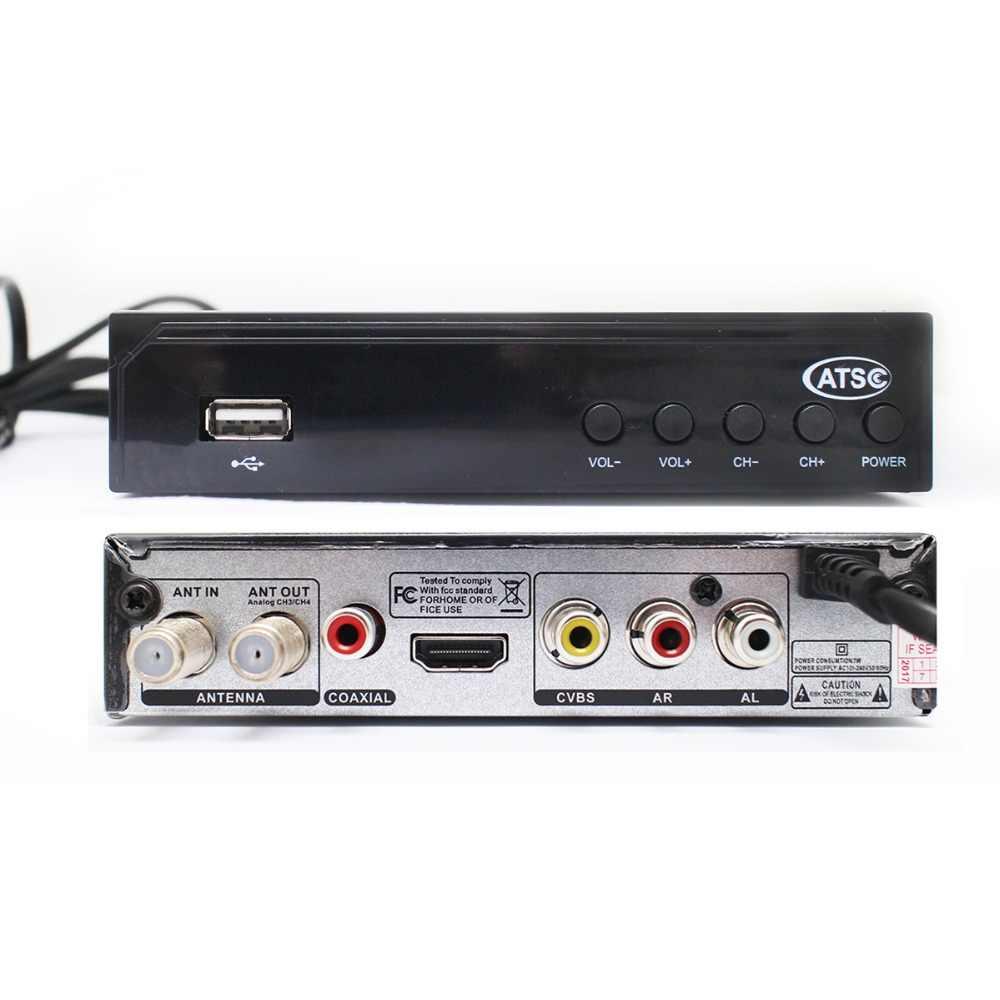 DVB ATSC High Definition TV set-top box ATSC TV Box Terrestrial Receiver HD  Digital Support PVR supply the United States Canada