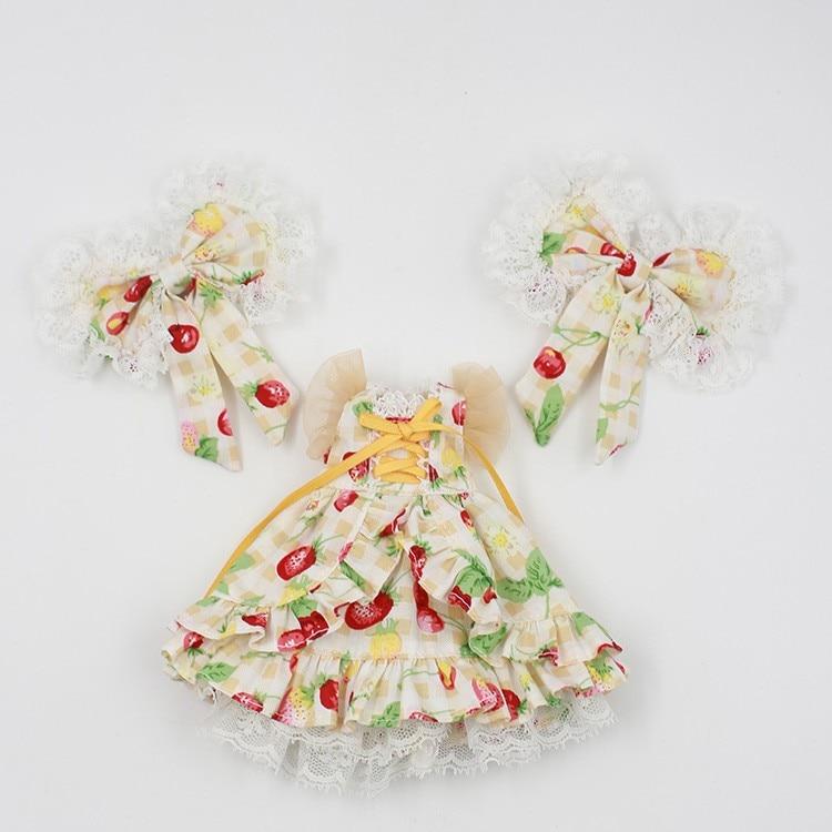 Neo Blythe Doll Butterfly Skirt Dress 2