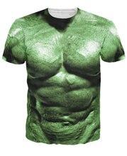 Футболка incredible hulk футболка с 3d принтом Духа на Хэллоуин