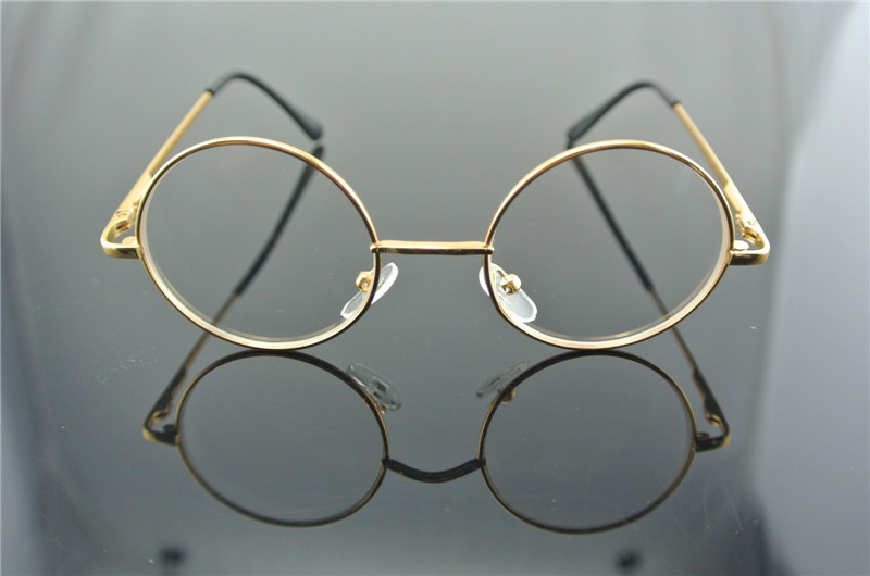 aliexpresscom buy 40mm vintage round harry potter child eyeglass frames boy girl gold full rim glasses clear lens eyeglasses optical rx from reliable