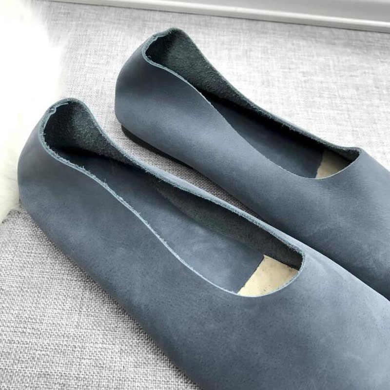 Bale Daireler 2019 marka tasarım Moda düz ayakkabı Kadın Rahat Rahat slip-on Kadınlar Loafer'lar Flats zapatos mujer 911