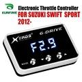 Автомобильный электронный контроллер дроссельной заслонки гоночный ускоритель мощный усилитель для SUZUKI Swift Sport 2012-2019 1,7 бензиновый Тюнинг З...