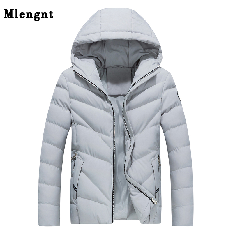 Fashion Cotton Thick Men Jacket For Winter 2018 Casual Classic Warm Hot Snow Windbreaker Outerwear   Parka   Baggy Hoodie Coat Male