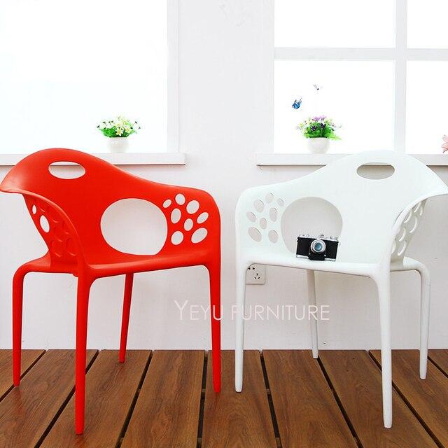 Sedie Di Plastica Impilabili.Design Moderno Esterno Di Plastica Impilabile Sedia Da Pranzo