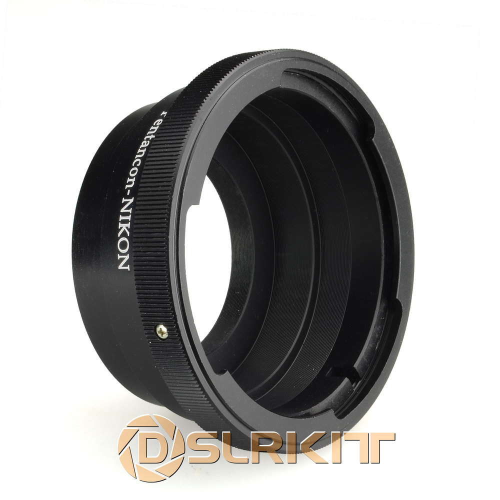 Lens Mount Adapter Ring for Pentacon 6 Kiev 60 Lens and Nikon AI F Mount Adapter