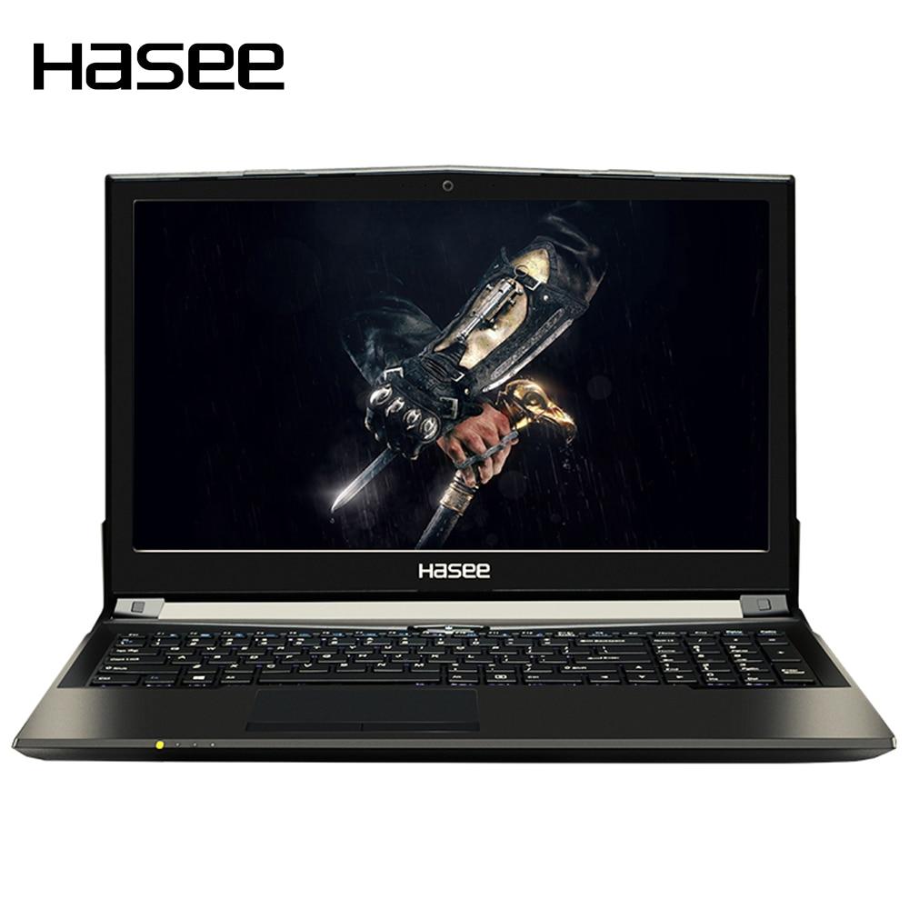 "Hasee Бог войны z6-kp5gt portátil ноутбук 15.6 ""1080 P HD для Intel i5-7300hq Процессоры gtx1050 2 г GDDR5 8 ГБ DDR4 1 ТБ + 128 ГБ"