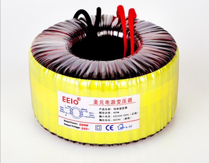 24V tranformer 600VA Toroidal transformer copper custom transformer 220V input 24V 25A power transformer цена