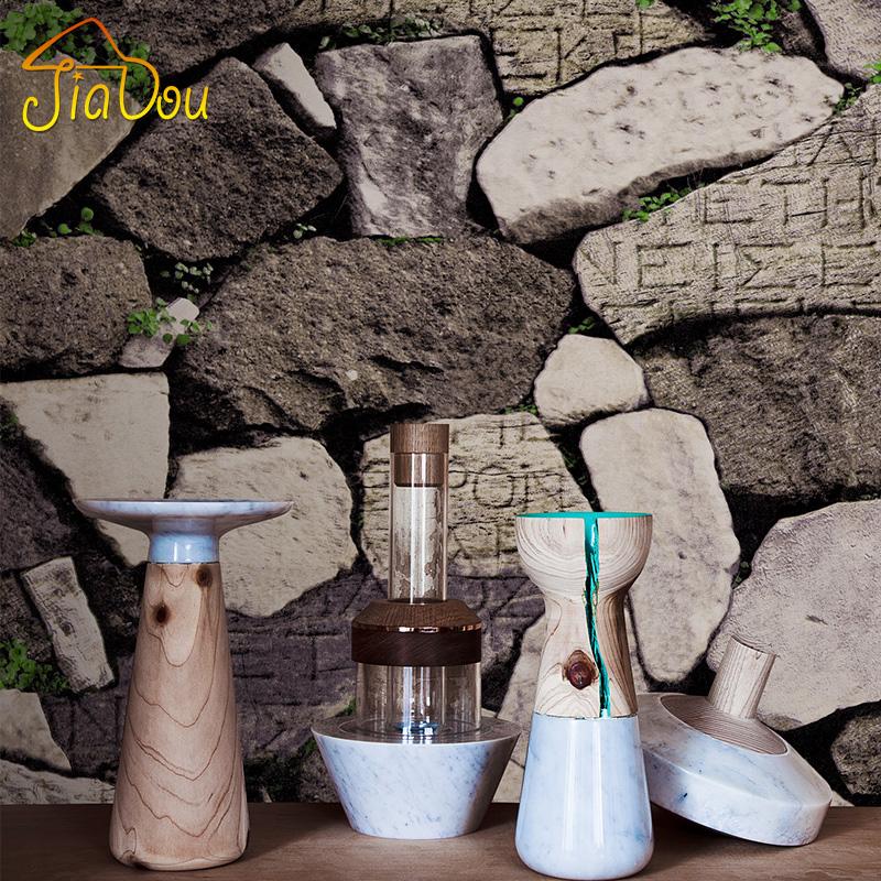 vintage d pvc ladrillo papel tapiz para paredes de piedra saln restaurante caf patrn de ladrillo