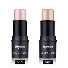 High Quality New Makeup Highlighter Stick Shimmer Powder Cream Women Make-Up Cosmetics Make Up xgrj