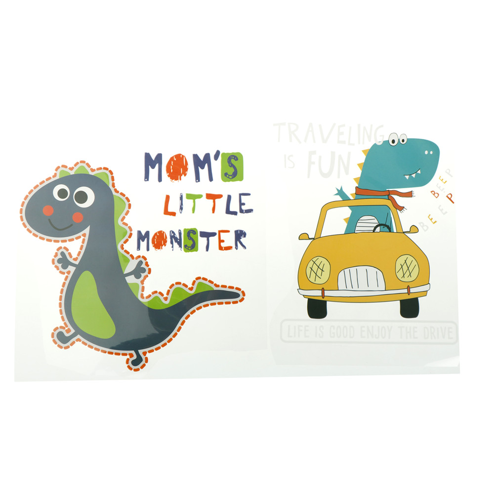 1 St Printable Warmteoverdracht Vinyl Pvc Auto Tractor Dinosaurus Patch Badge Thermische Transfer Iron On Transfers Voor Kleding Strepen Beschikbaar In Verschillende Uitvoeringen En Specificaties Voor Uw Selectie