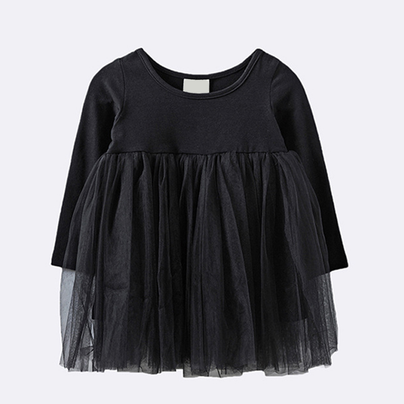 все цены на 2017 New Spring Autumn Kids Girls Princess Dresses Infant Dress Newborn Girls Clothes Baby Cotton Long Sleeve Clothing 0-4 Years