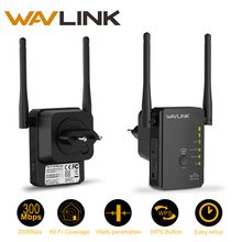 Wavlink High Power Wireless N300 Router Repeater Range Extender Compact Design Router Repeater Access Point(AP) Mode WPS Button