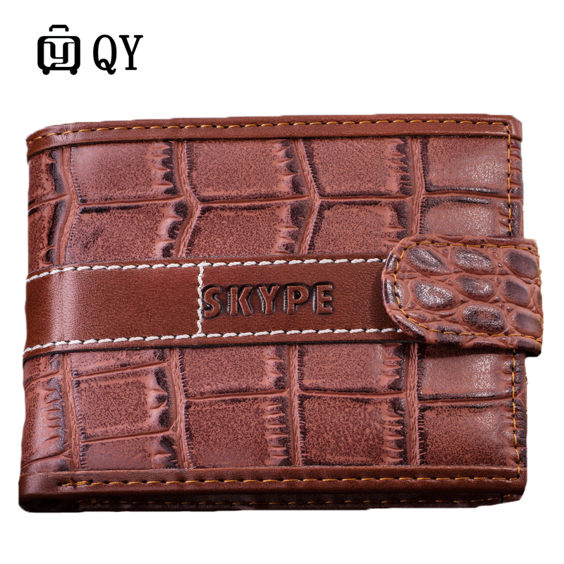 Wallet Man Crocodile Grain Hasp  Originality Dollar Package Small Change 2016 Fund Goods In Stock Mixed Batch Foreign Trade