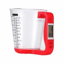 Цифровой Кубок весы электронные кухонные измерения чашки с ЖК-дисплей Дисплей Кубок мера жидкости кувшин бытовые весы кухню инструменты