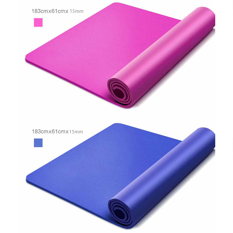 Body Line Thick Hot Yoga Pilates Mats Gymnastics Balance Pads Fitness Mats Non-Slip Dance Pads 8