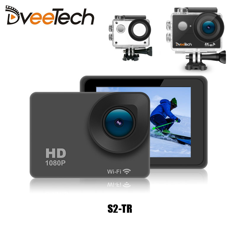 4K Sports Action Camera Wifi Touch Screen Waterproof 30M 1080p Full HD 16Mp Underwater Action Cam Bicycle Helmet Camera S2-T wimius 20m wifi action camera 4k sport helmet cam full hd 1080p 60fps go waterproof 30m pro gyro stabilization av out fpv camera
