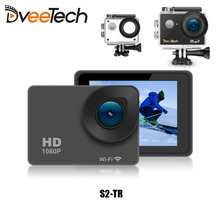 4K Sports Action Camera Wifi Touch Screen Waterproof 30M 1080p Full HD 16Mp Underwater Action Cam