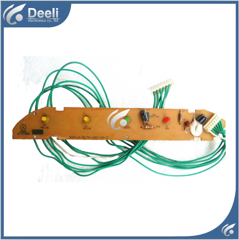 95% new good working for air conditioning board receiving plate RZA-4-5174-180-XX-0 PCB board air conditioning board kfr 26w 11bp rza 4 5174 181 xx 0 used disassemble