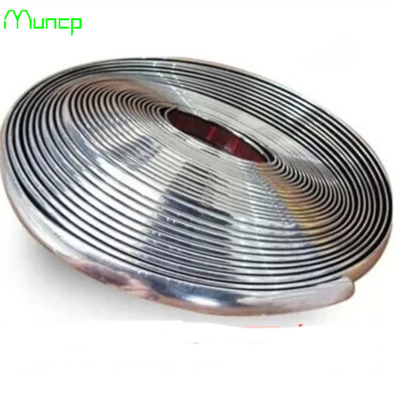 Muncp 10mm x15m Chrome Trim Styling Car Molding Exterior Interior Decoration Trim Strip For Land Rover Range Rover/Evoque-in Car Stickers from Automobiles & Motorcycles on AliExpress