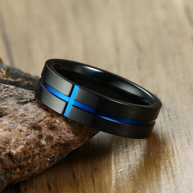 Фото мужское кольцо recom d из нержавеющей стали простое ювелирное цена