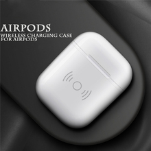 AirPods case wireless charging box for Bluetooth headset receiver QI portable