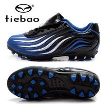 Бренд Tiebao высокое качество дети света AG подошвой обувь для футбола футбольные бутсы для мальчиков трава, спортивные Chuteira девочек Детские кроссовки